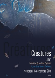 Affiche expo Creatures