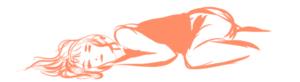 Croquis orange